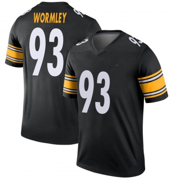 Men's Chris Wormley Pittsburgh Steelers Nike Legend Jersey - Black