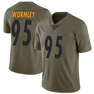 Men's Chris Wormley Pittsburgh Steelers Nike Limited 2017 Salute to Service Jersey - Green
