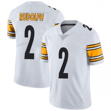 Men's Mason Rudolph Pittsburgh Steelers Nike Limited Vapor Untouchable Jersey - White