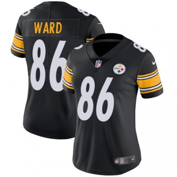 Women's Hines Ward Pittsburgh Steelers Nike Limited Team Color Jersey - Black