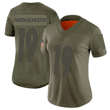 Women's JuJu Smith-Schuster Pittsburgh Steelers Nike Limited 2019 Salute to Service Jersey - Camo