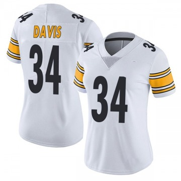 Women's Knile Davis Pittsburgh Steelers Nike Limited Vapor Untouchable Jersey - White