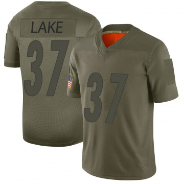 Youth Carnell Lake Pittsburgh Steelers Nike Limited 2019 Salute to Service Jersey - Camo
