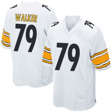 Youth Cavon Walker Pittsburgh Steelers Nike Game Jersey - White