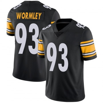 Youth Chris Wormley Pittsburgh Steelers Nike Limited 100th Vapor Jersey - Black