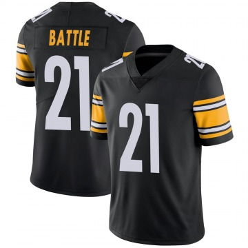 Youth John Battle Pittsburgh Steelers Nike Limited Team Color Vapor Untouchable Jersey - Black