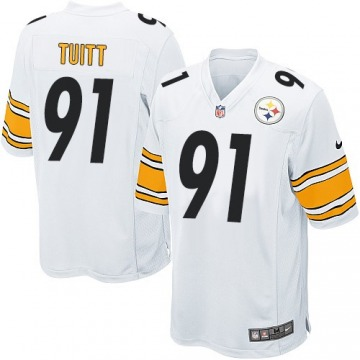 Youth Stephon Tuitt Pittsburgh Steelers Nike Game Jersey - White